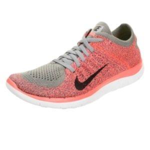 Nike Free RN Flyknit Running Shoe, Size 10